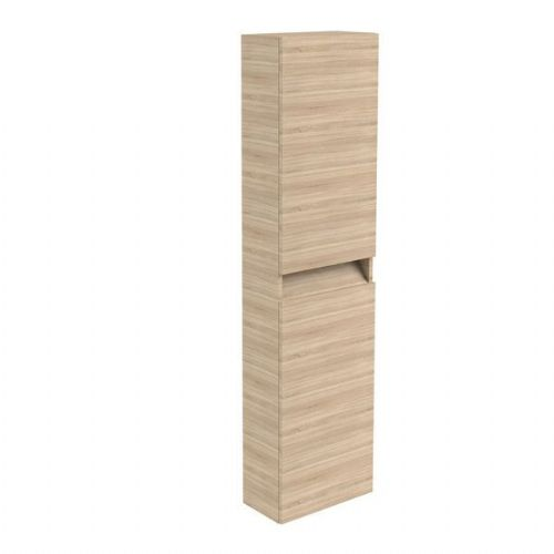 Kartell Ikon Wall Mounted Tall Storage Unit - 1600mm High - Oak - Left Handed